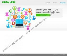Lucky Leap Ads virus