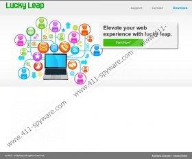 Lucky Leap Ads virus