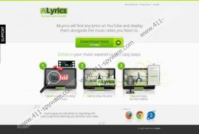 Allyrics Pop-up Ads