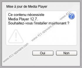 Ce contenu necessite la mise a jour 12.2 de Media Player