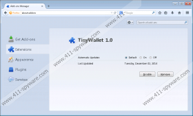Tinywallet ads