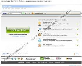 Internet Helper Toolbar