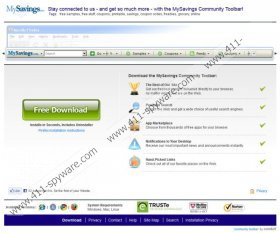MySavings Toolbar