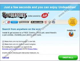 Undeaddies Toolbar