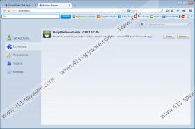 DailyWellnessGuide Toolbar