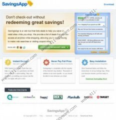 SavingsApp coupons