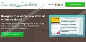 Savings Explorer