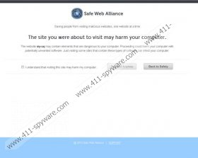 SafeWebAlliance Virus