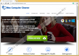 Max Computer Cleaner
