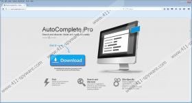 AutoCompletePro