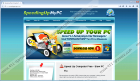 SpeedingUpMyPC