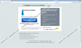 DailyProductivityTools Toolbar