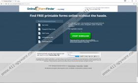 OnlineFormFinder Toolbar