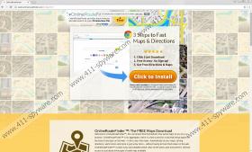 OnlineRouteFinder Toolbar