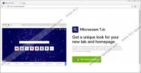 Microcosm New Tab