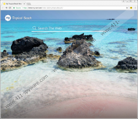 My Tropical Beach New Tab