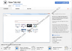 New Tab Aid plugin