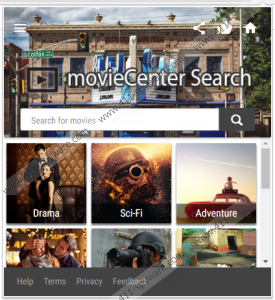 MovieCenter Search