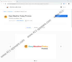 Easy Weather Today Promos