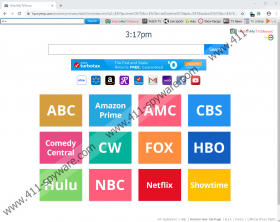 WatchMyTVShows Toolbar