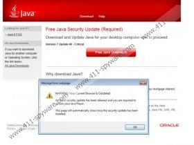 Java Software Critical Update