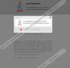 No Java Detected