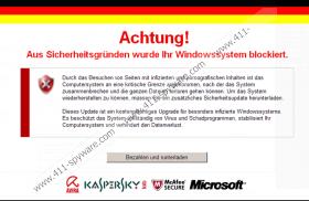 Aus sicherheitsgründen wurde ihr windowssystem blockiert virus