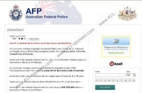 Australian Federal Police Virus