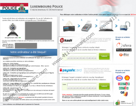 Luxembourg Police Virus