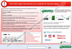 FBI Online Agent has Blocked your computer for security reason virus