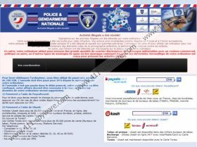 Police & Gendarmerie Nationale Virus