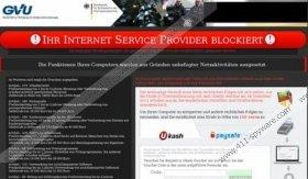 Ihr Internet Service Provider blockiert Virus