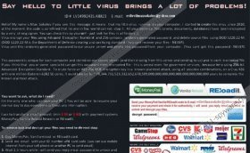 Say Hello To Little Virus Brings A Lot Of Problems