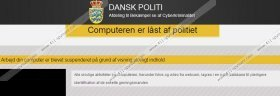Computeren er låst af politiet Virus