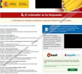 Gobierno de España Virus