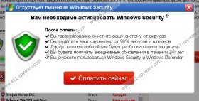 Windows Security Virus