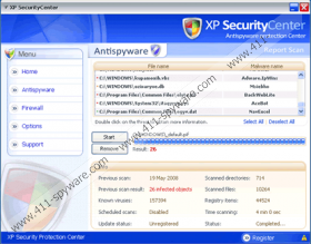XP Security Center