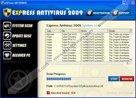 eXpress Antivirus 2009