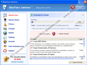 Blueflare Antivirus