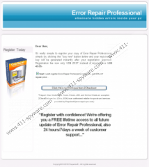 Error Repair Professional