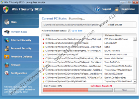 Win 7 Security 2012