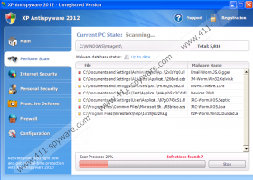 XP Antispyware 2012