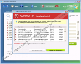 Antivirus Protection 2012
