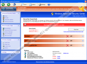 Windows Component Protector