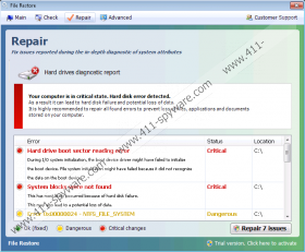 File Restore Virus