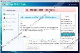 My Safe PC 2014 Virus