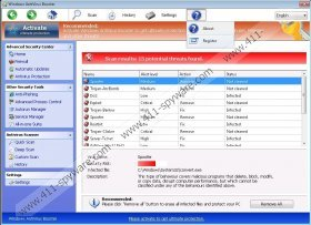 Windows AntiVirus Booster