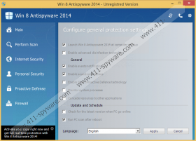 Win 8 Antispyware 2014