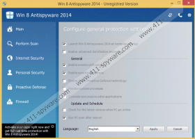 Win 8 Protection 2014