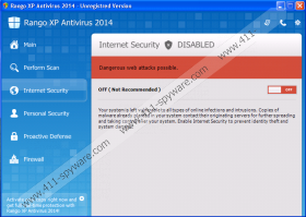 Rango XP Antispyware 2014